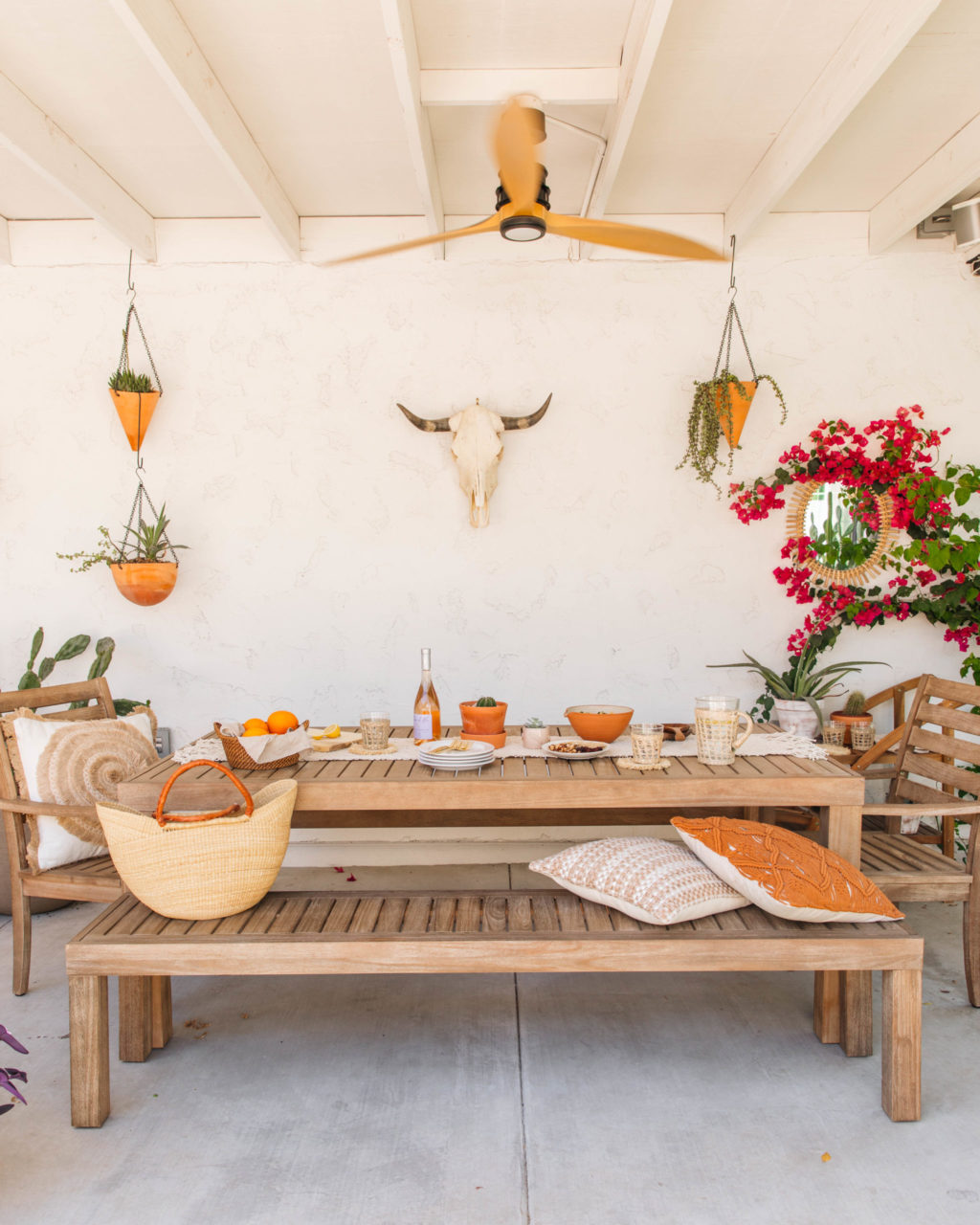 Boho Patio Decor