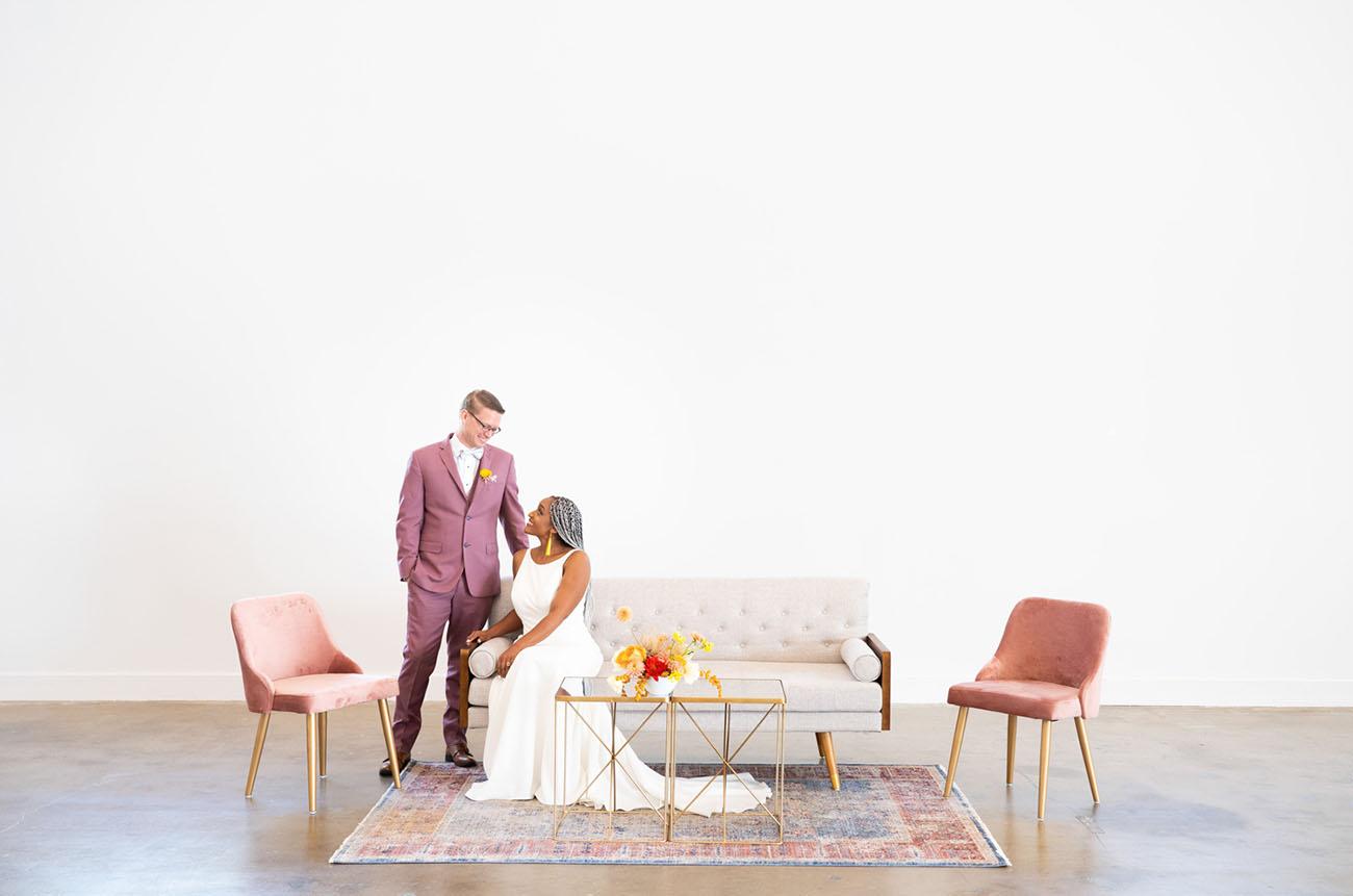 Colorblock Wedding Inspiration