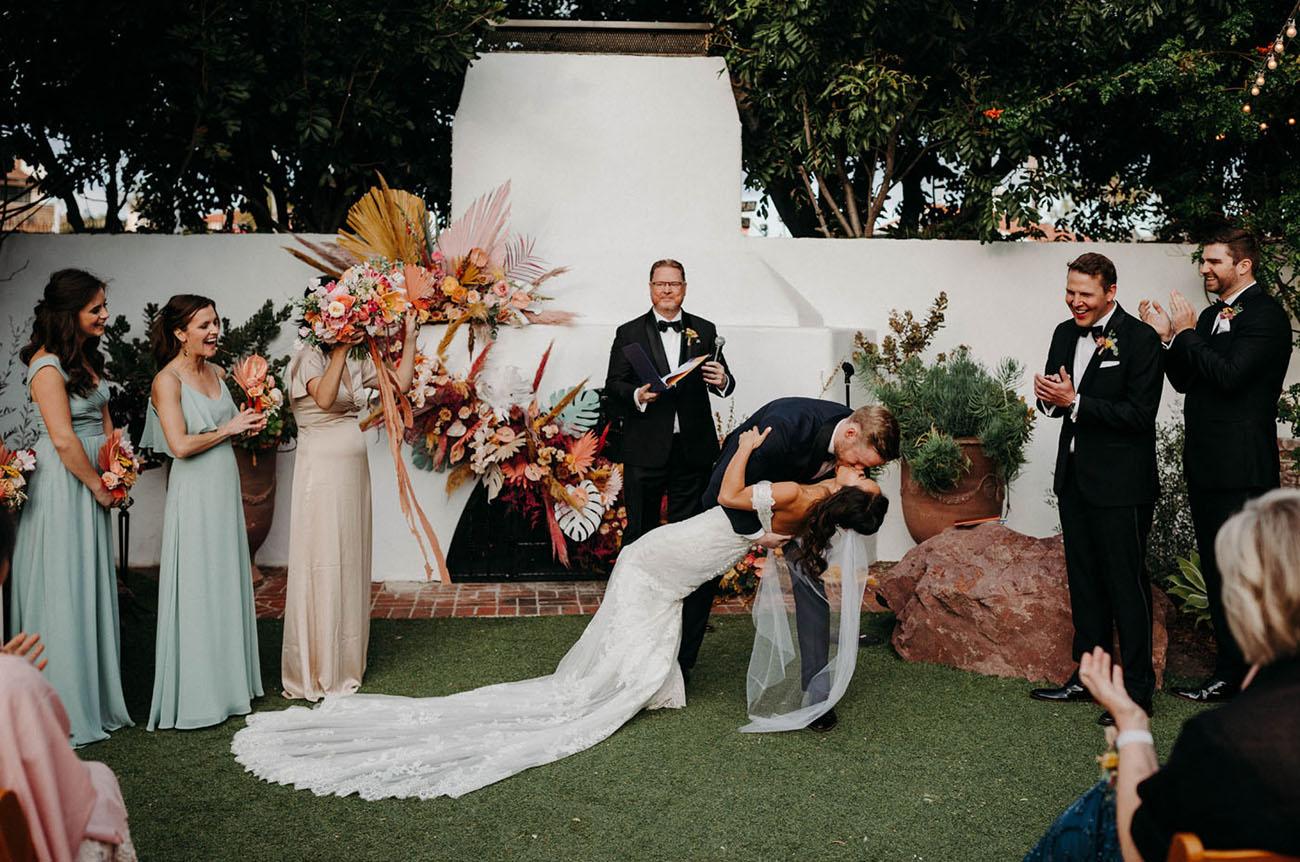 Boho San Clemente Wedding