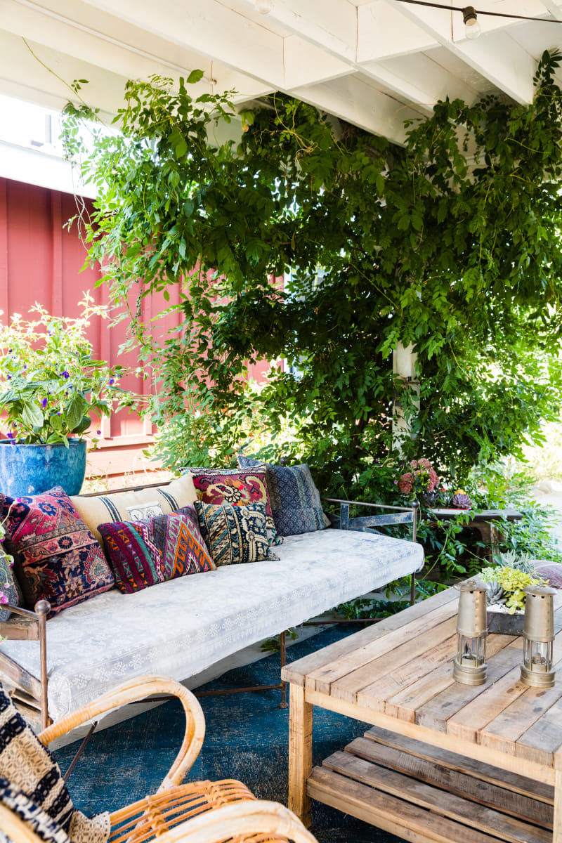 Boho Patio Space