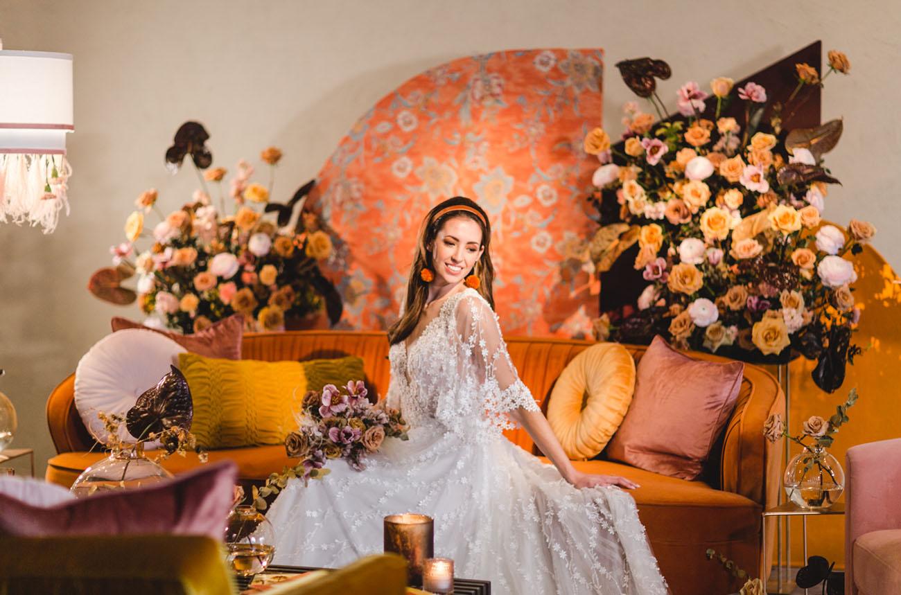 Retro-Chic 70s Wedding Inspiration