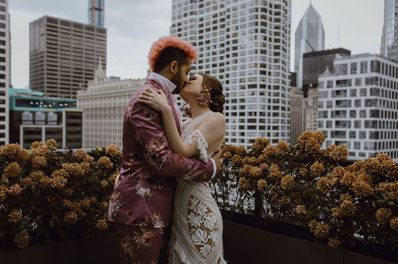 Modern Chicago Wedding