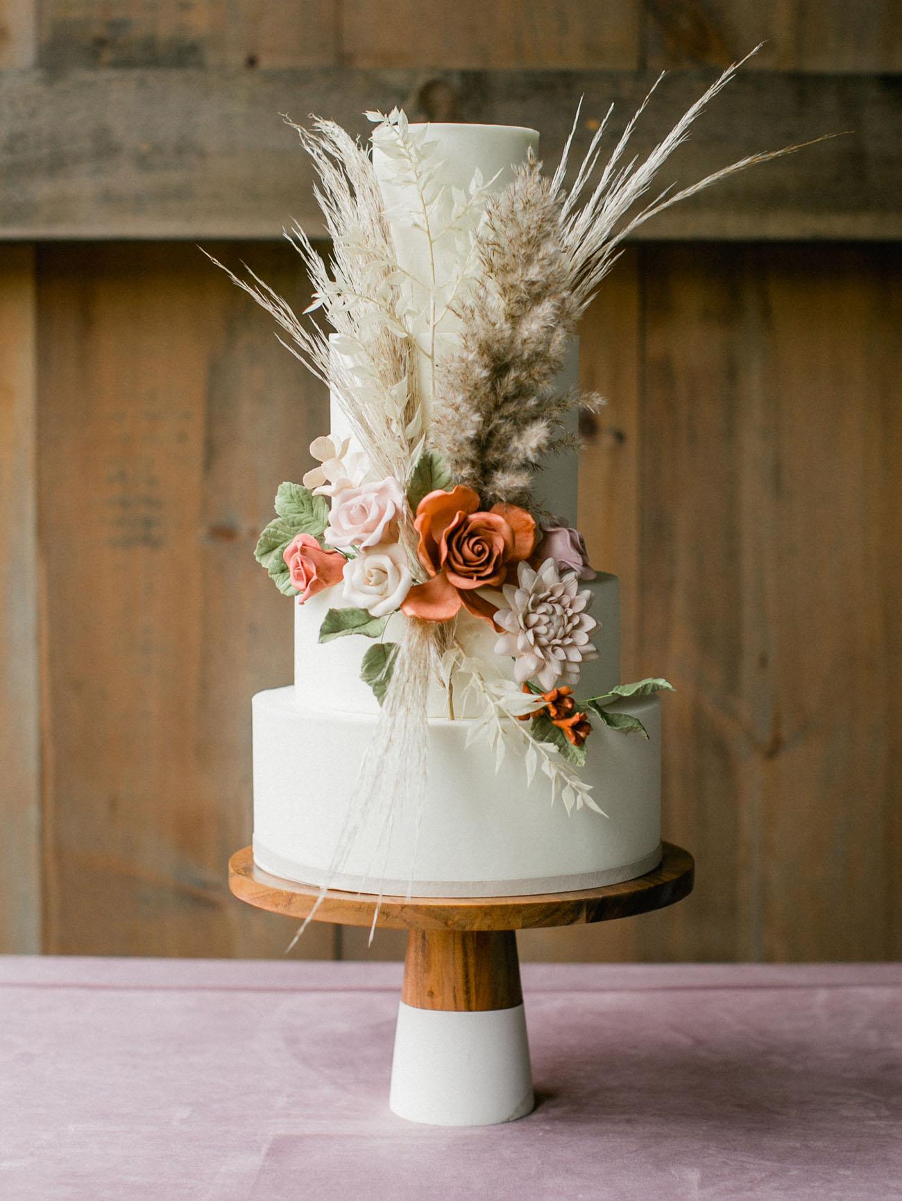 pampas grass cake