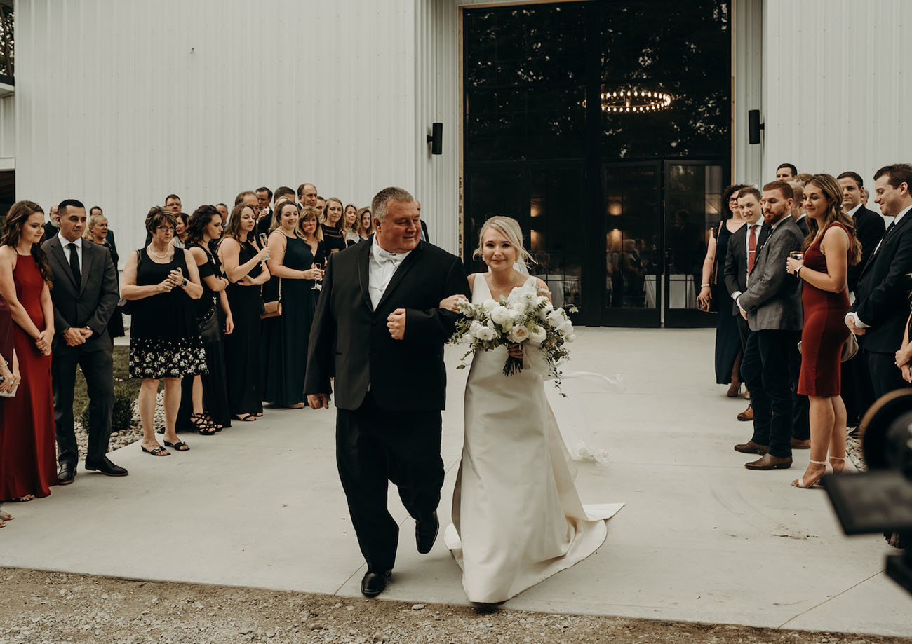 Ohio Modern Barn Wedding