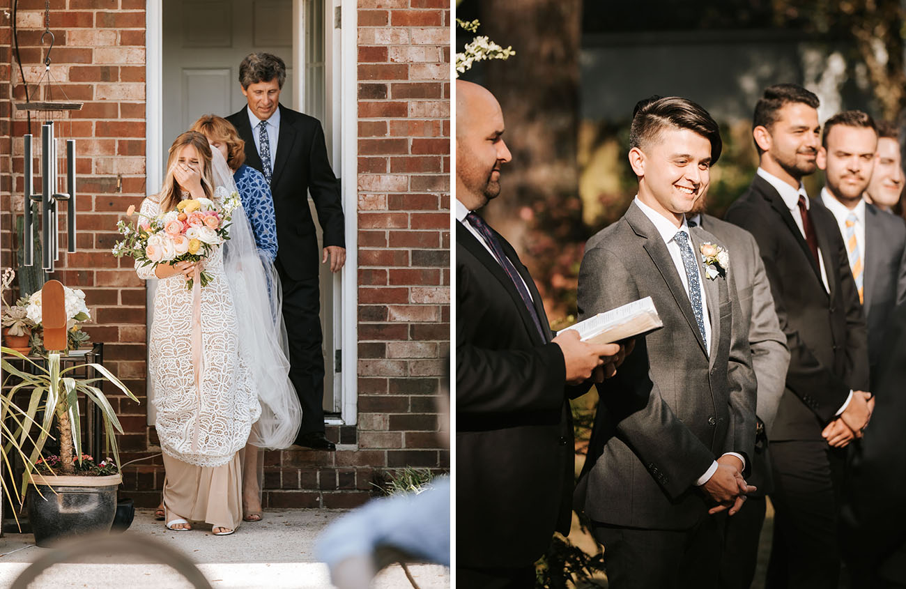 COVID-19 Backyard Wedding