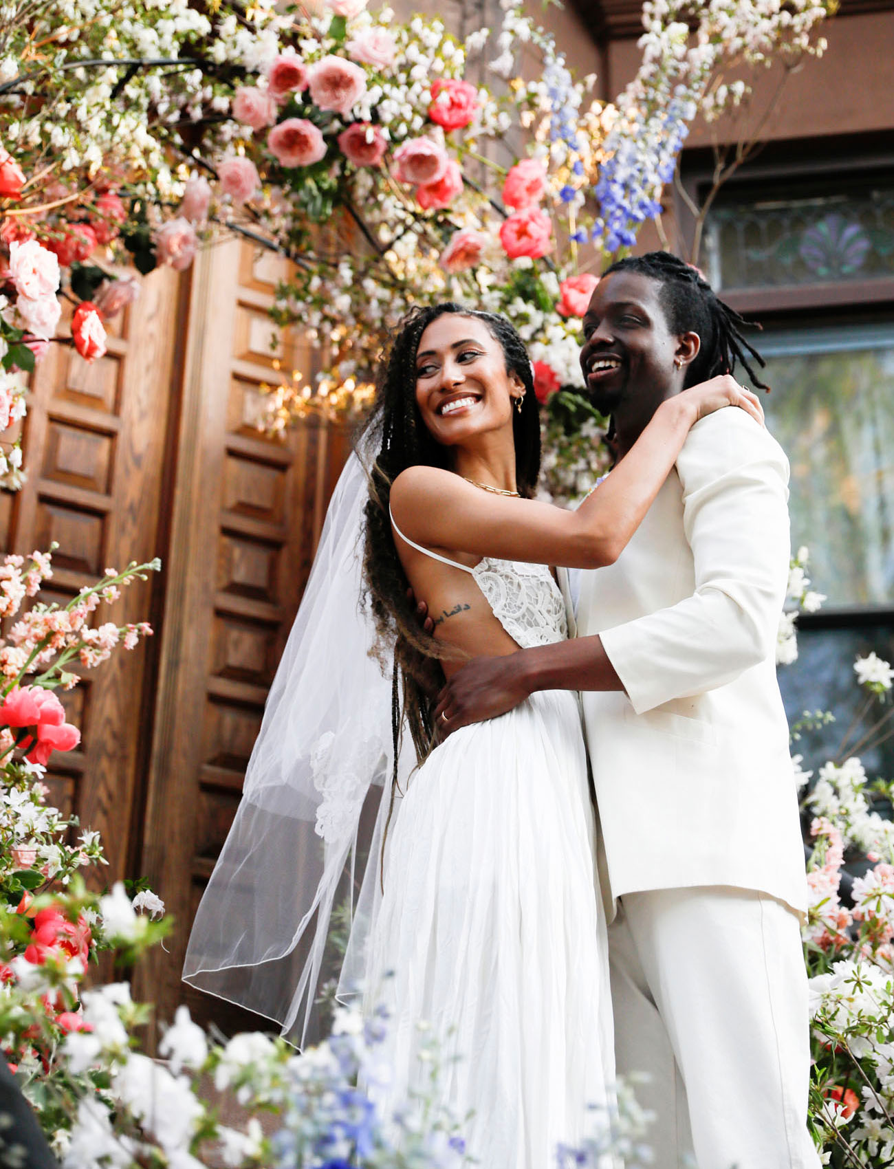 Mariage d'Elaine Welteroth