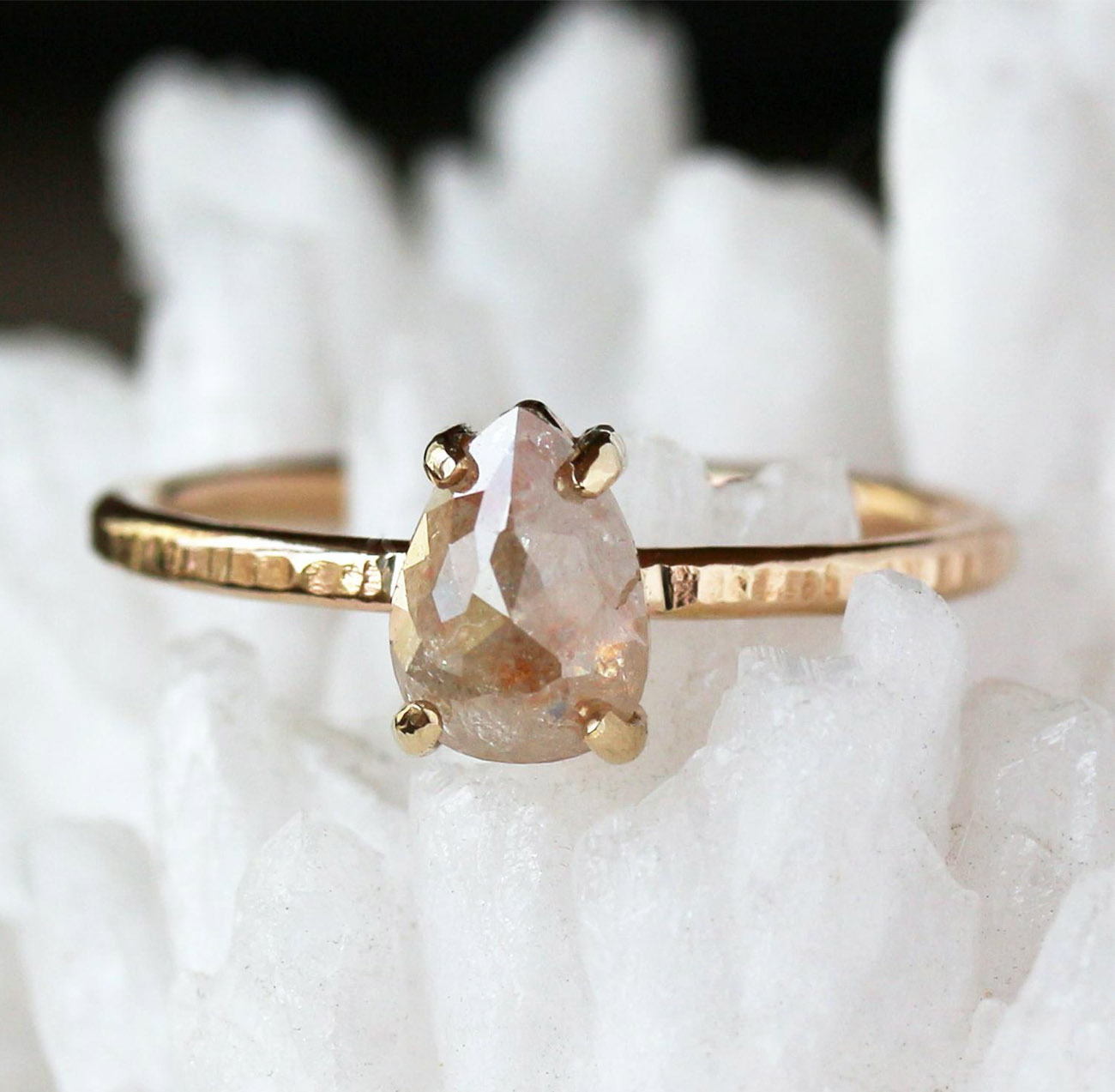ethical engagement ring from etsy
