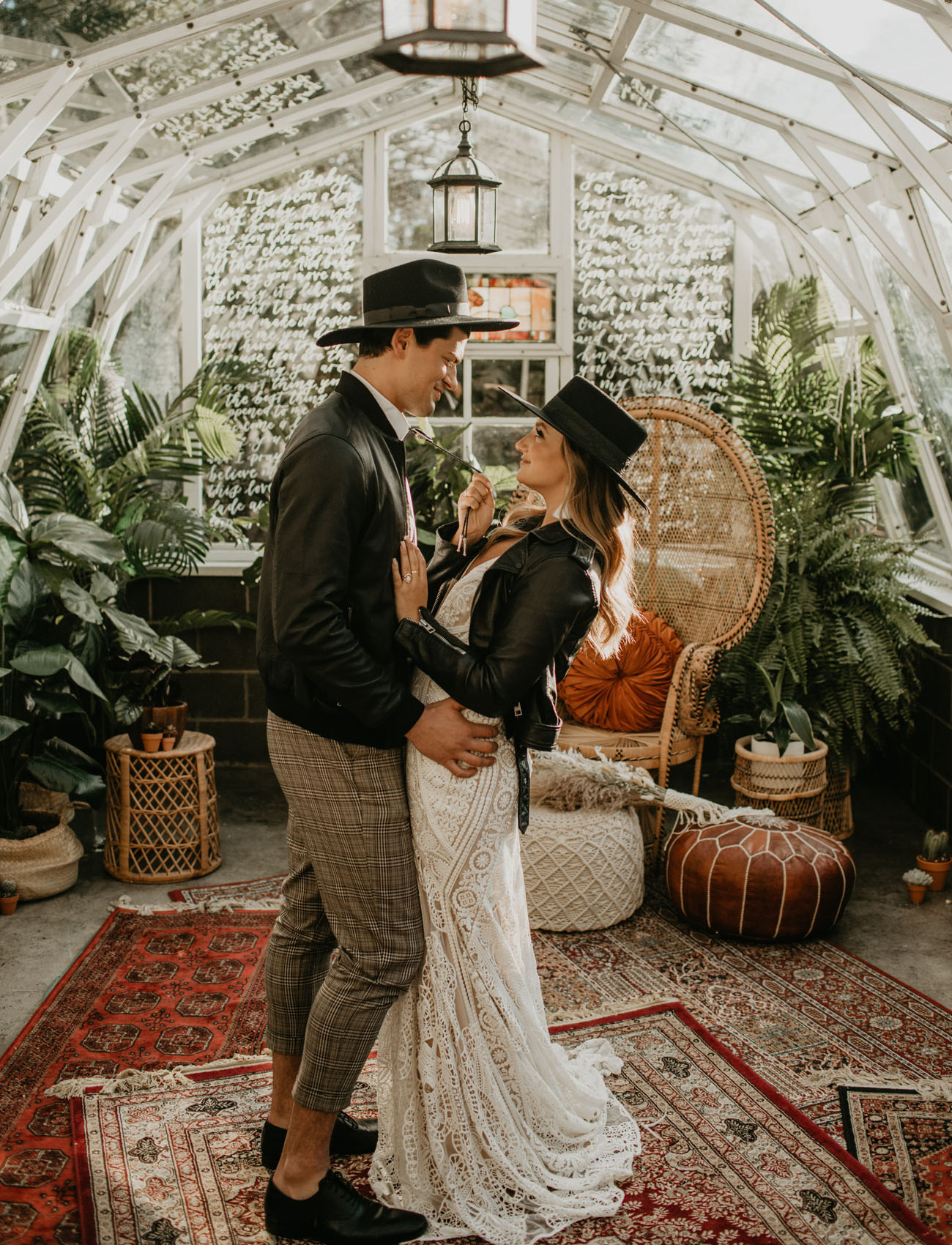 Free Spirited Greenhouse Wedding Inspiration