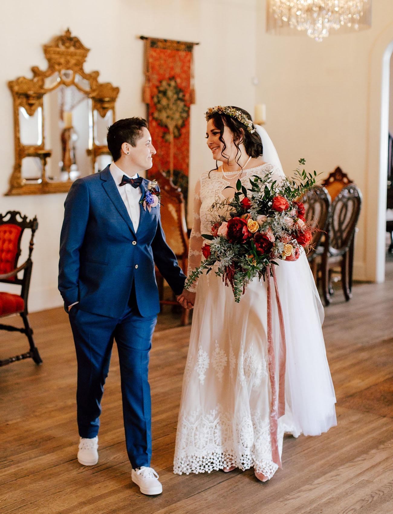 Celestial Inspired Winter Wedding