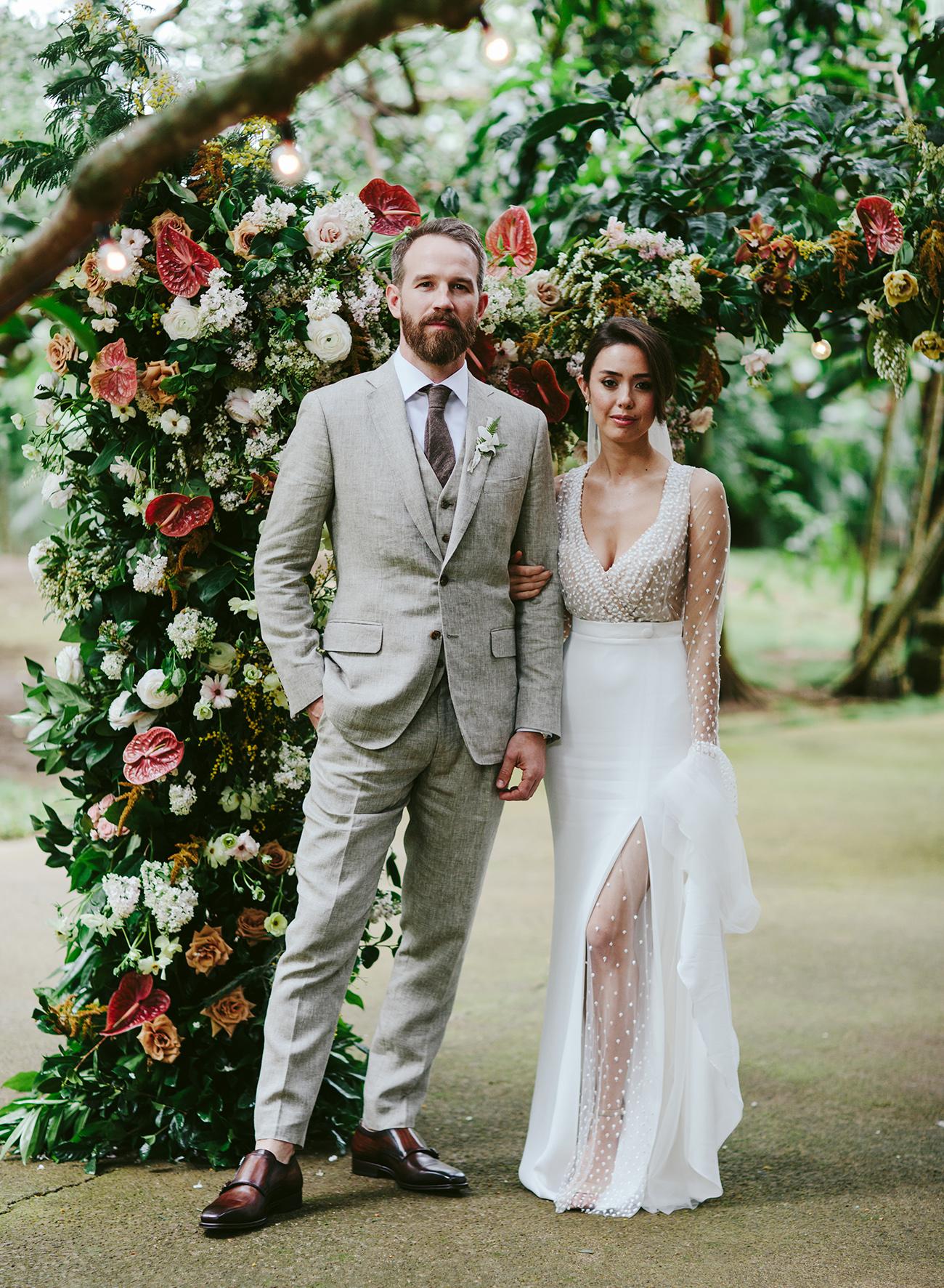 Wedding at Haiku Mill in Maui