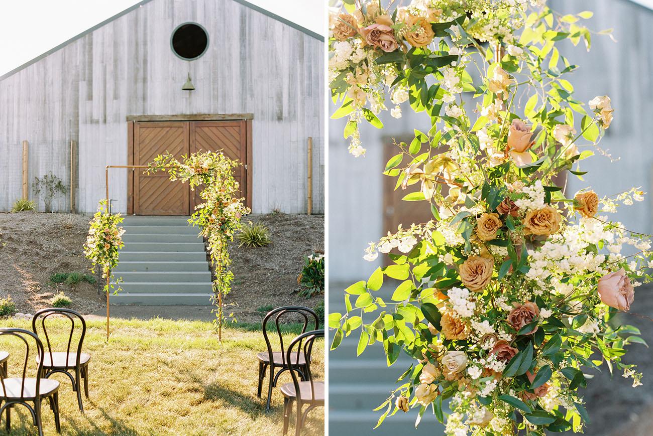 Modern Barn Wedding Inspiration