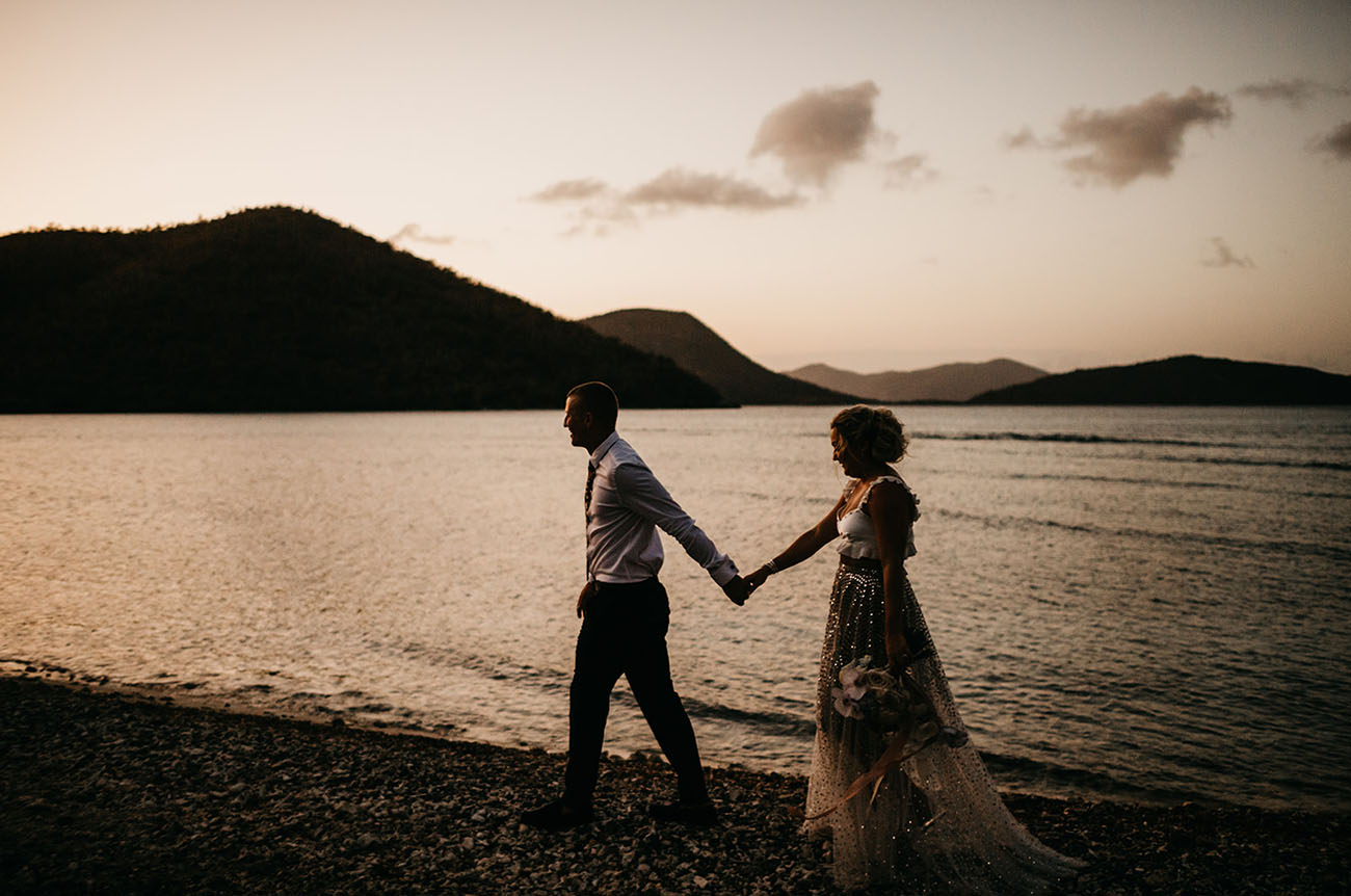 Prismatic Caribbean Wedding