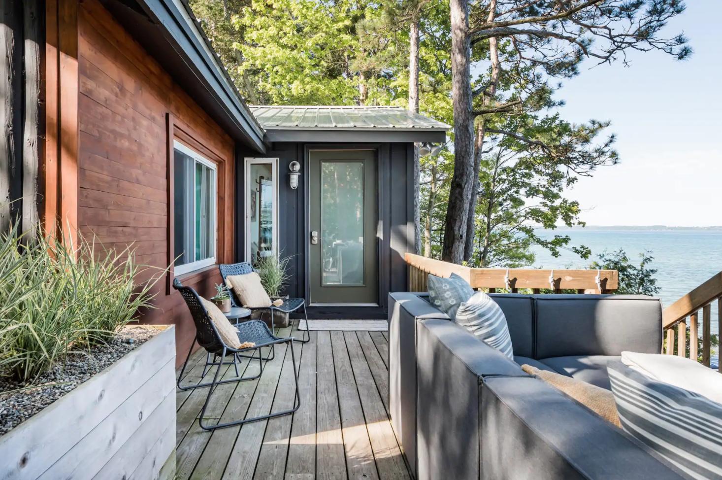 Airbnb du lac Michigan