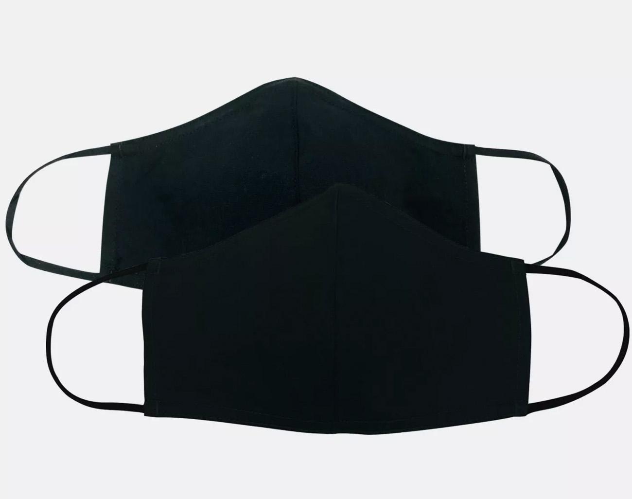 masques noirs pour les commandes groupées