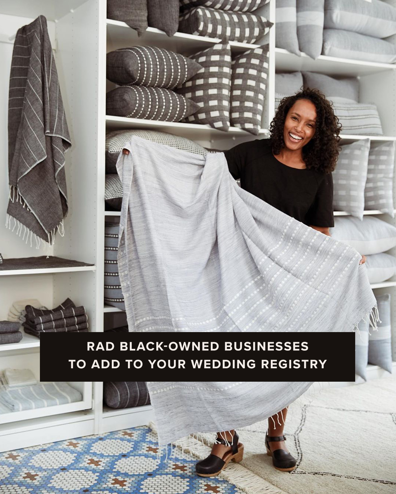 black owned business to add to your wedding registry