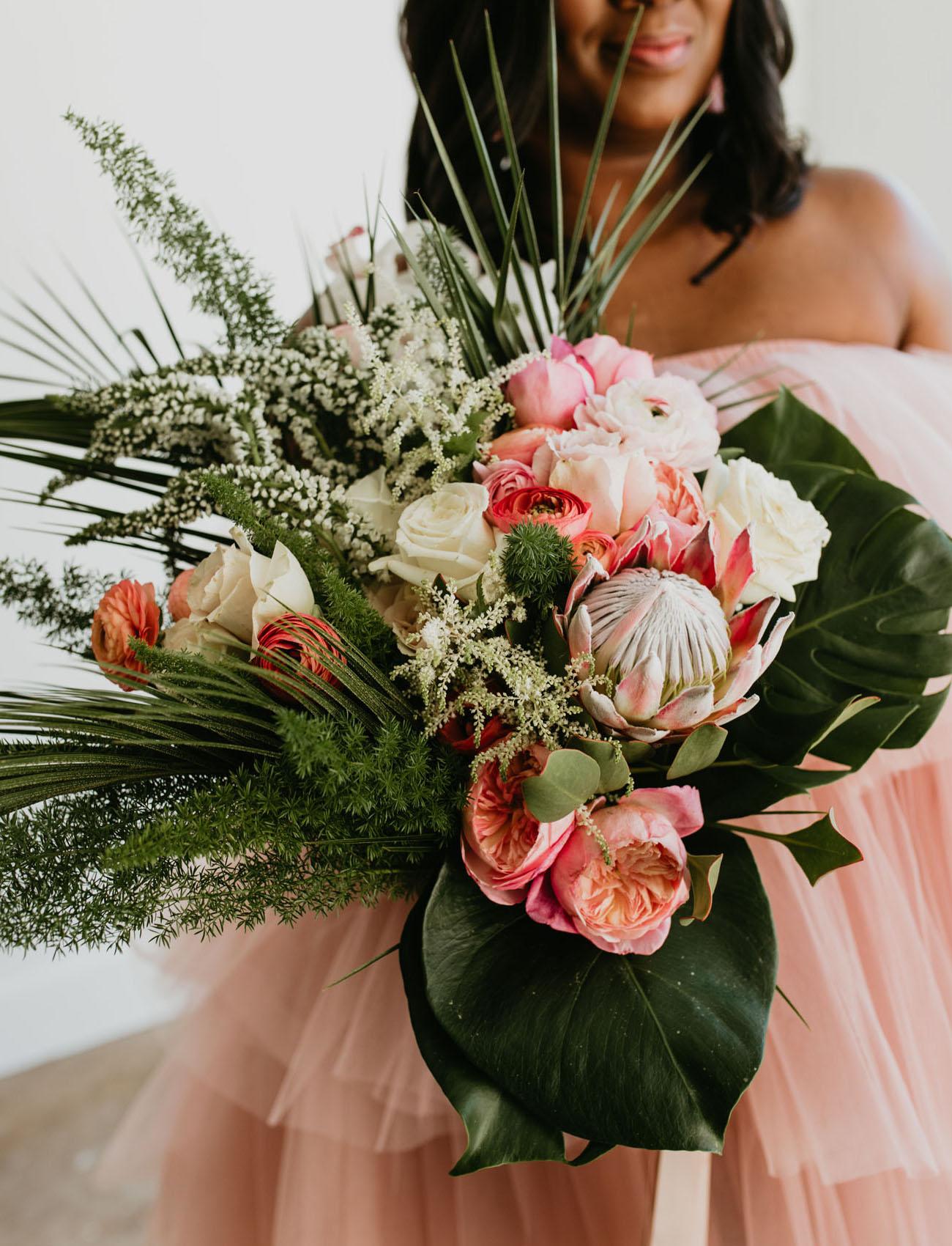 Boho Tropical Bouquet