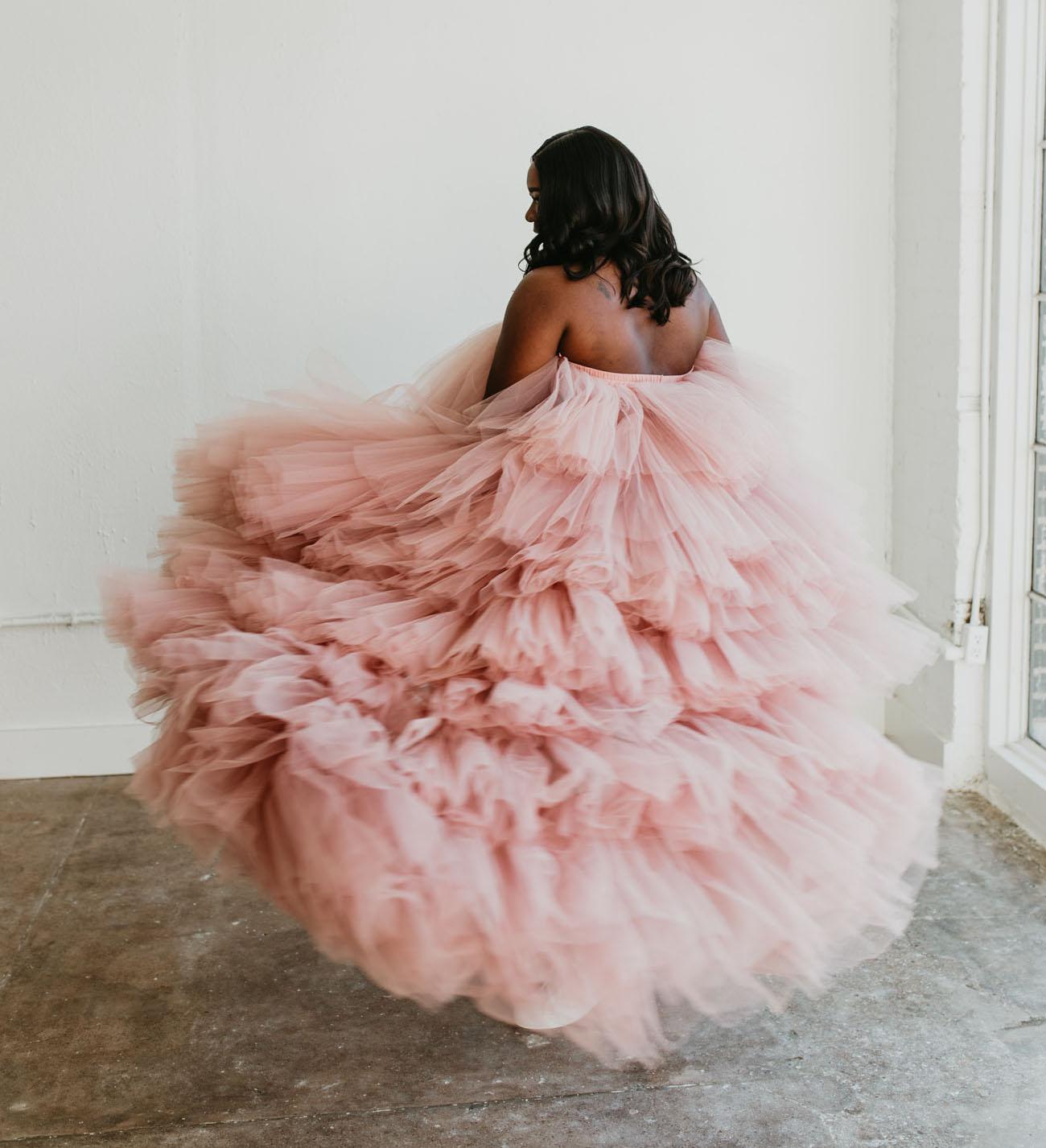 Oyemwen Blush Dress