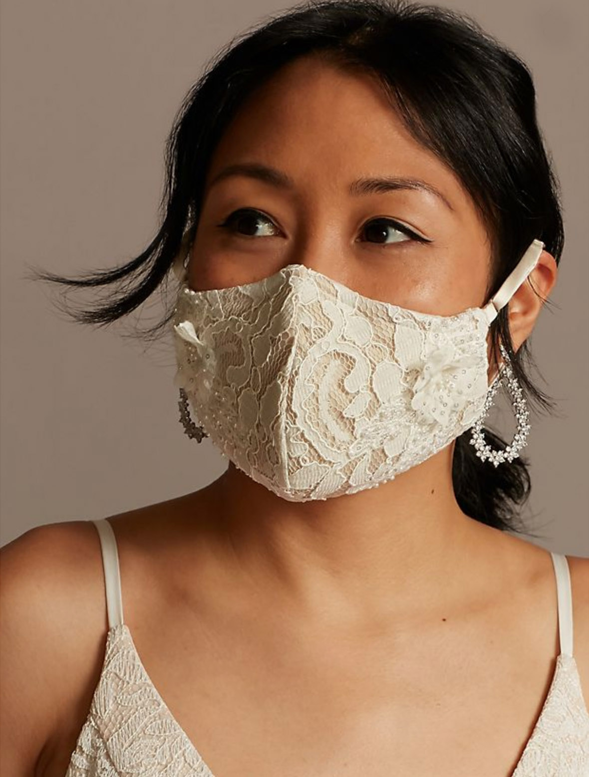 Face Mask for the Bride