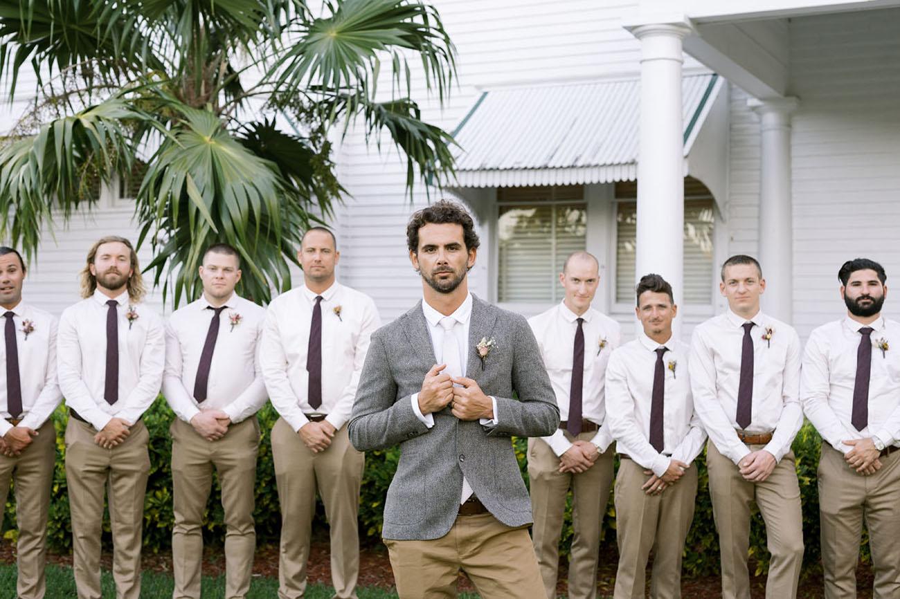 tweed jacket groom
