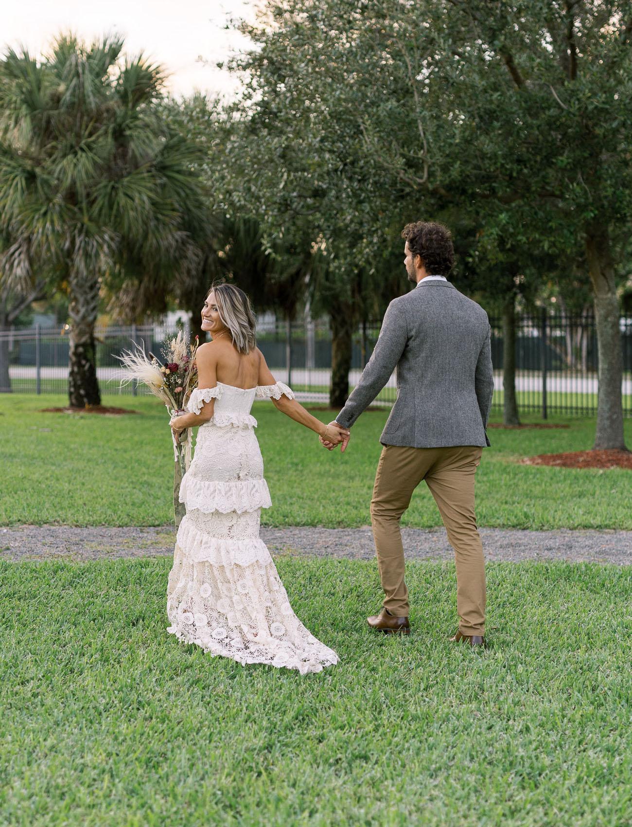 Florida Jewel Tone Winter Wedding