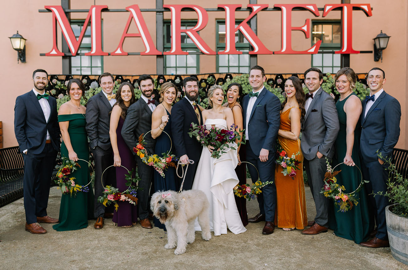 Modern Glam San Diego Wedding