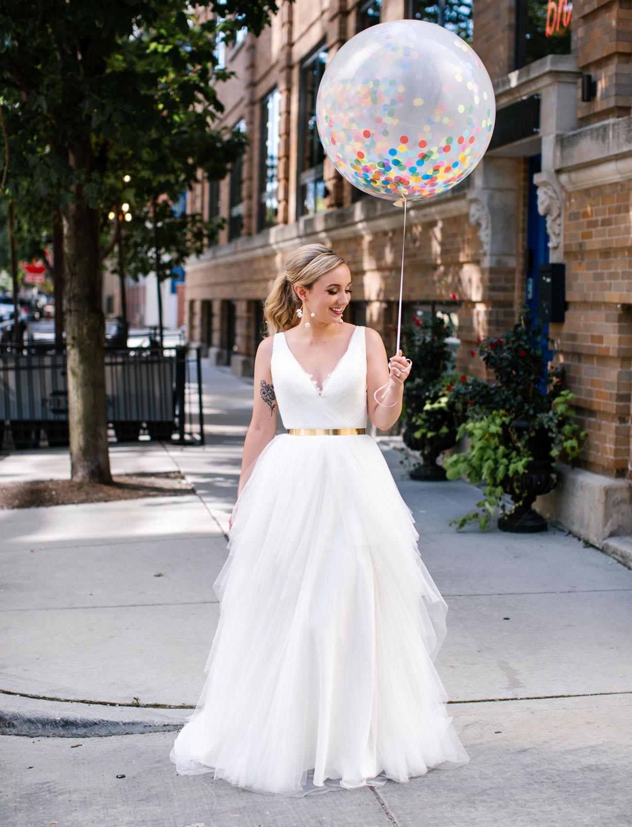 confetti balloon first look