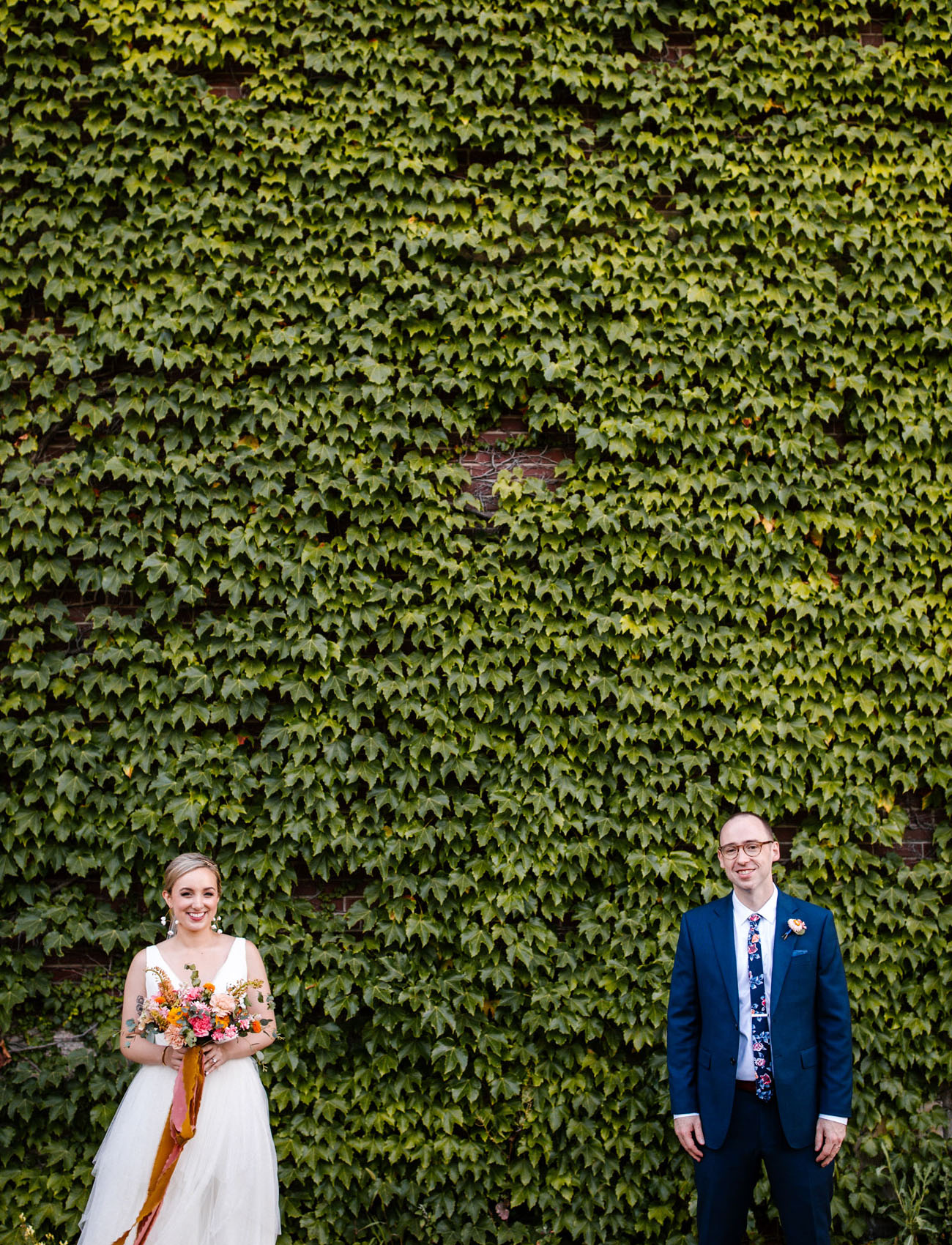 Colorful Chicago Wedding