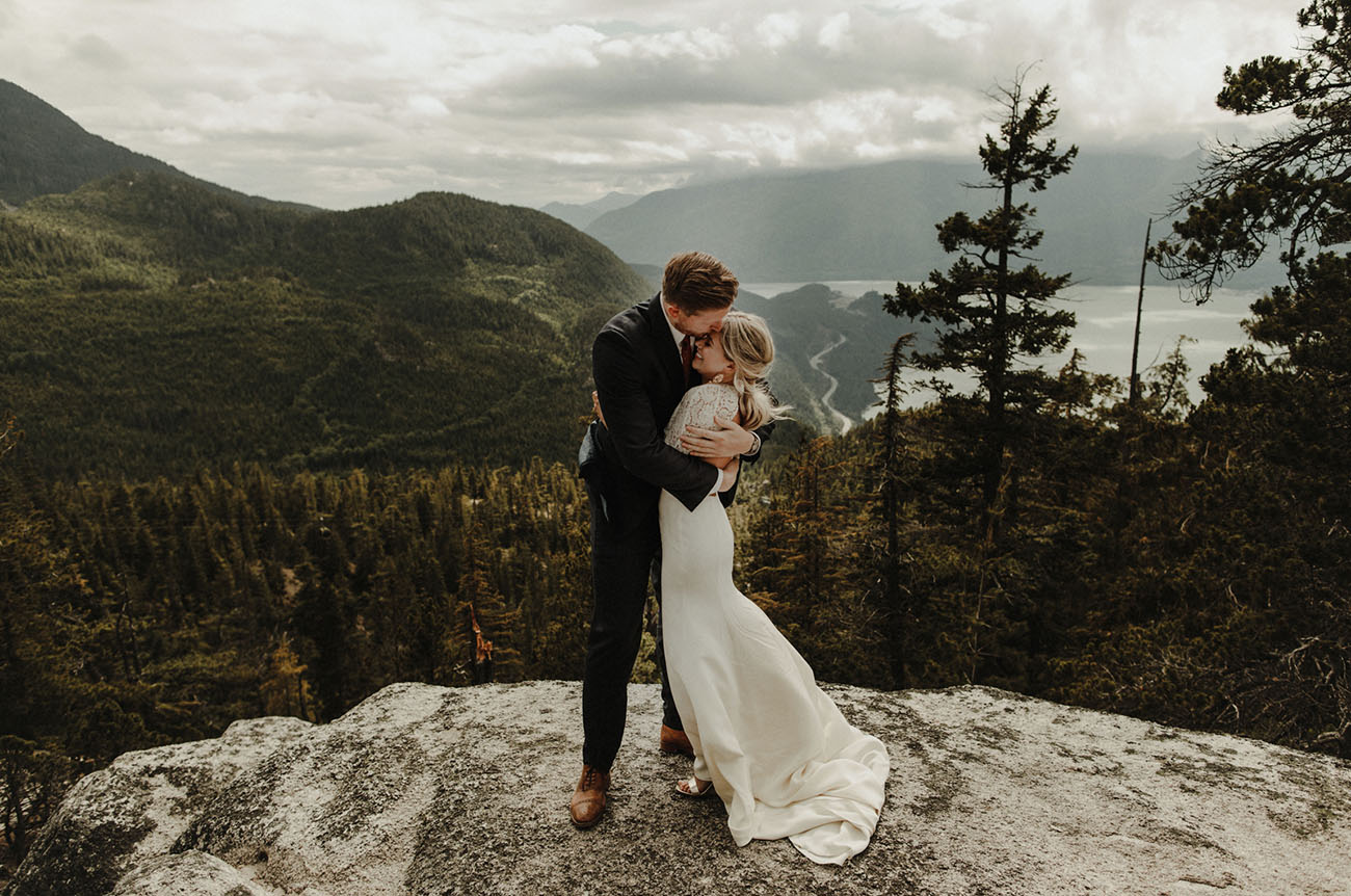 Canadian Mountain Wedding