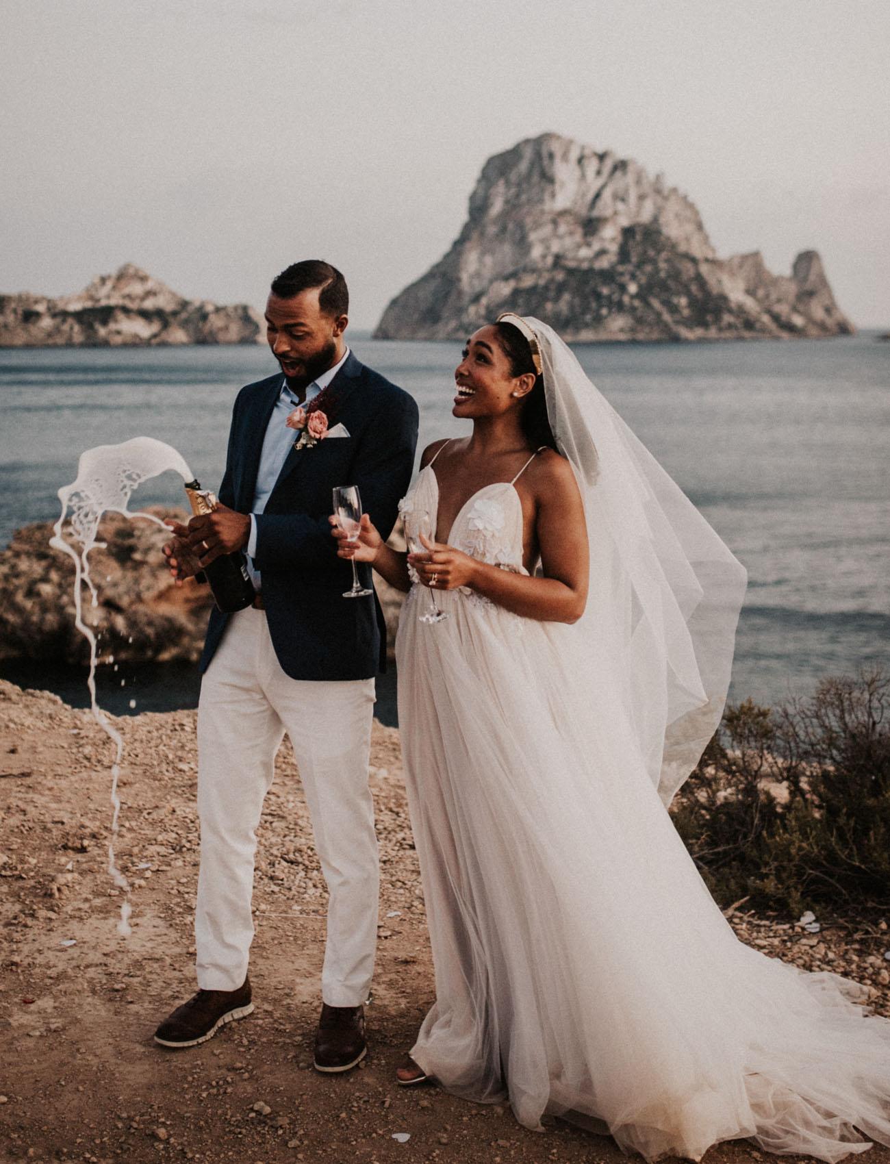 Boho Ibiza Elopement