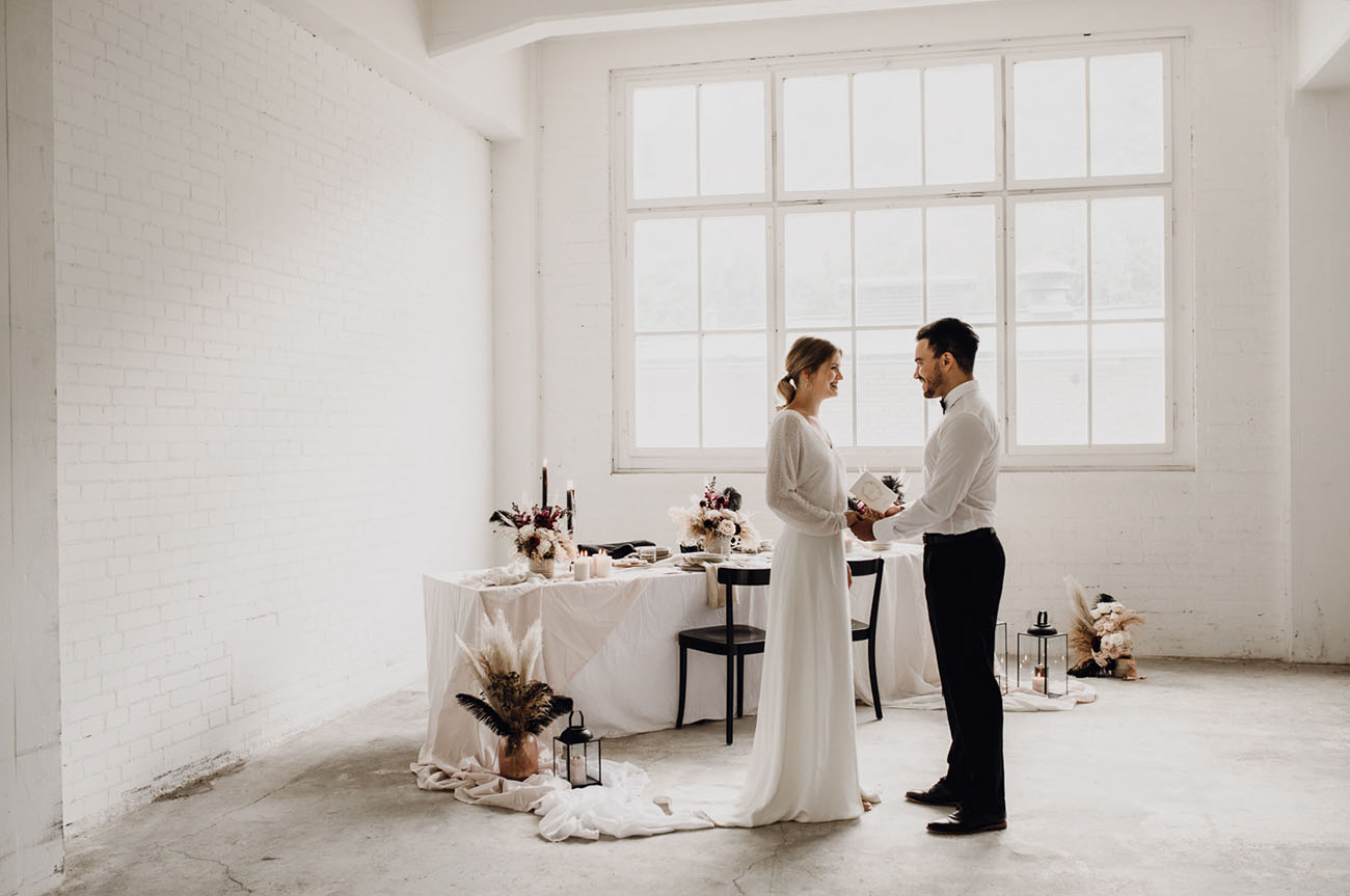 Industrial Elopement Inspiration