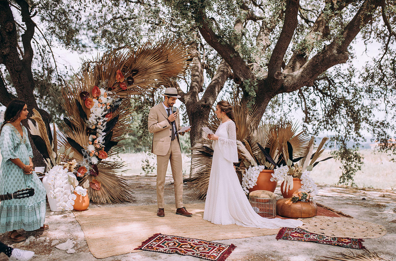 Moroccan Inspired Wedding