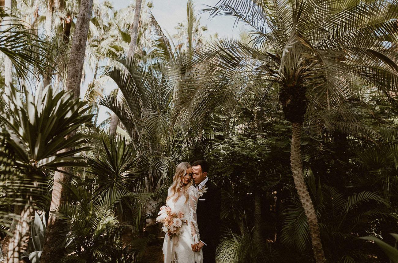 Mexican Boho Jungle Wedding