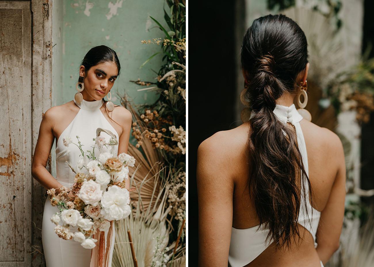 bridal pony hairstyle
