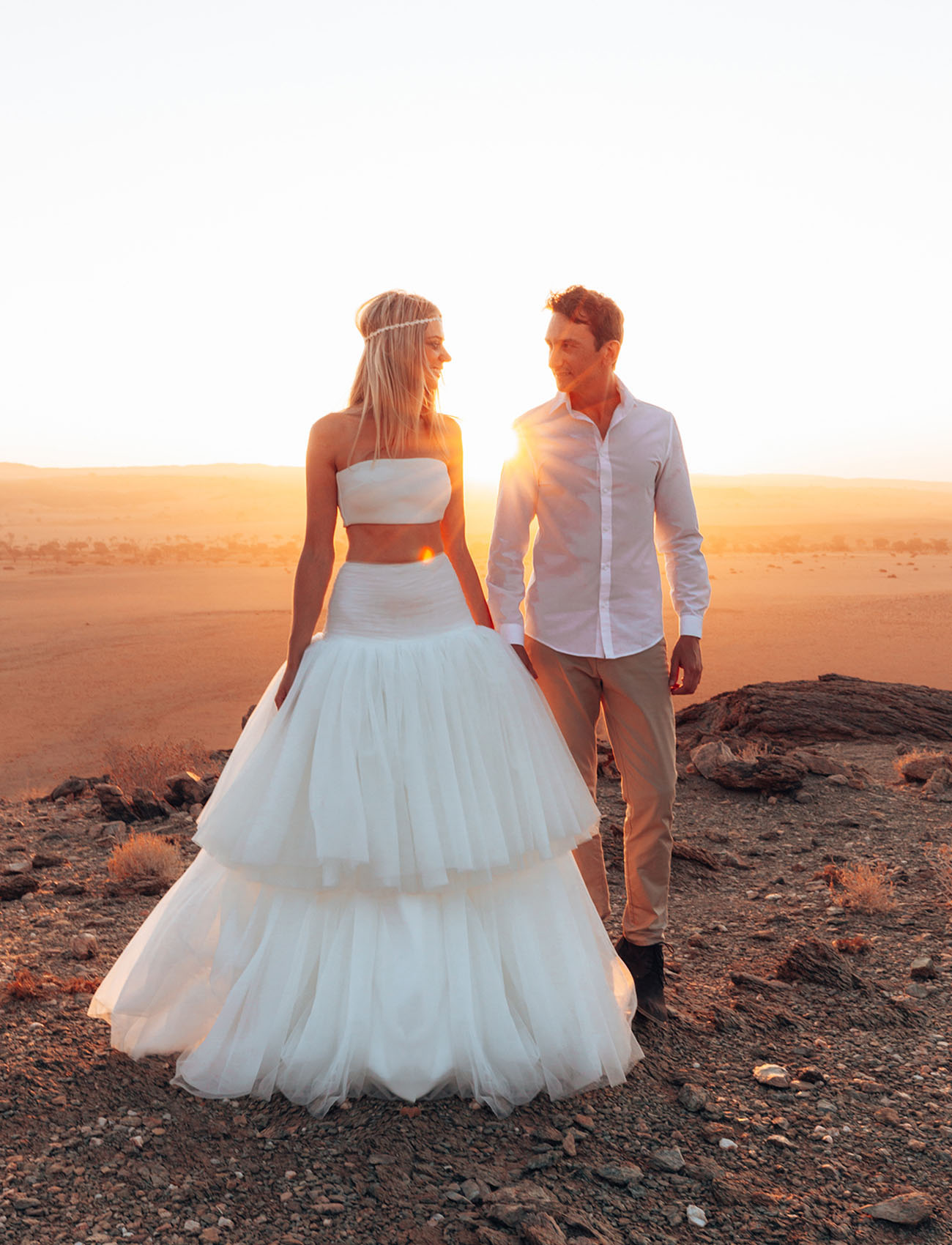 Adventurous Namibia Elopement