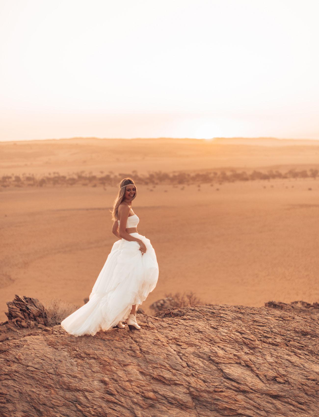 Adventurous Namibia Elopement