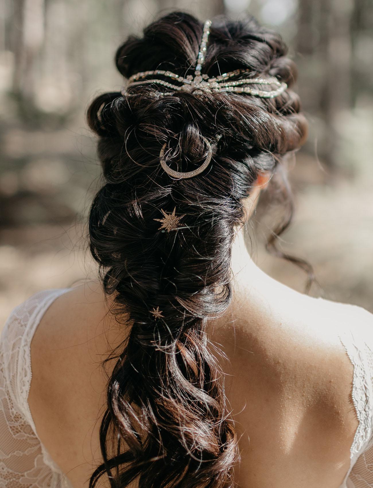 celestial hair piece