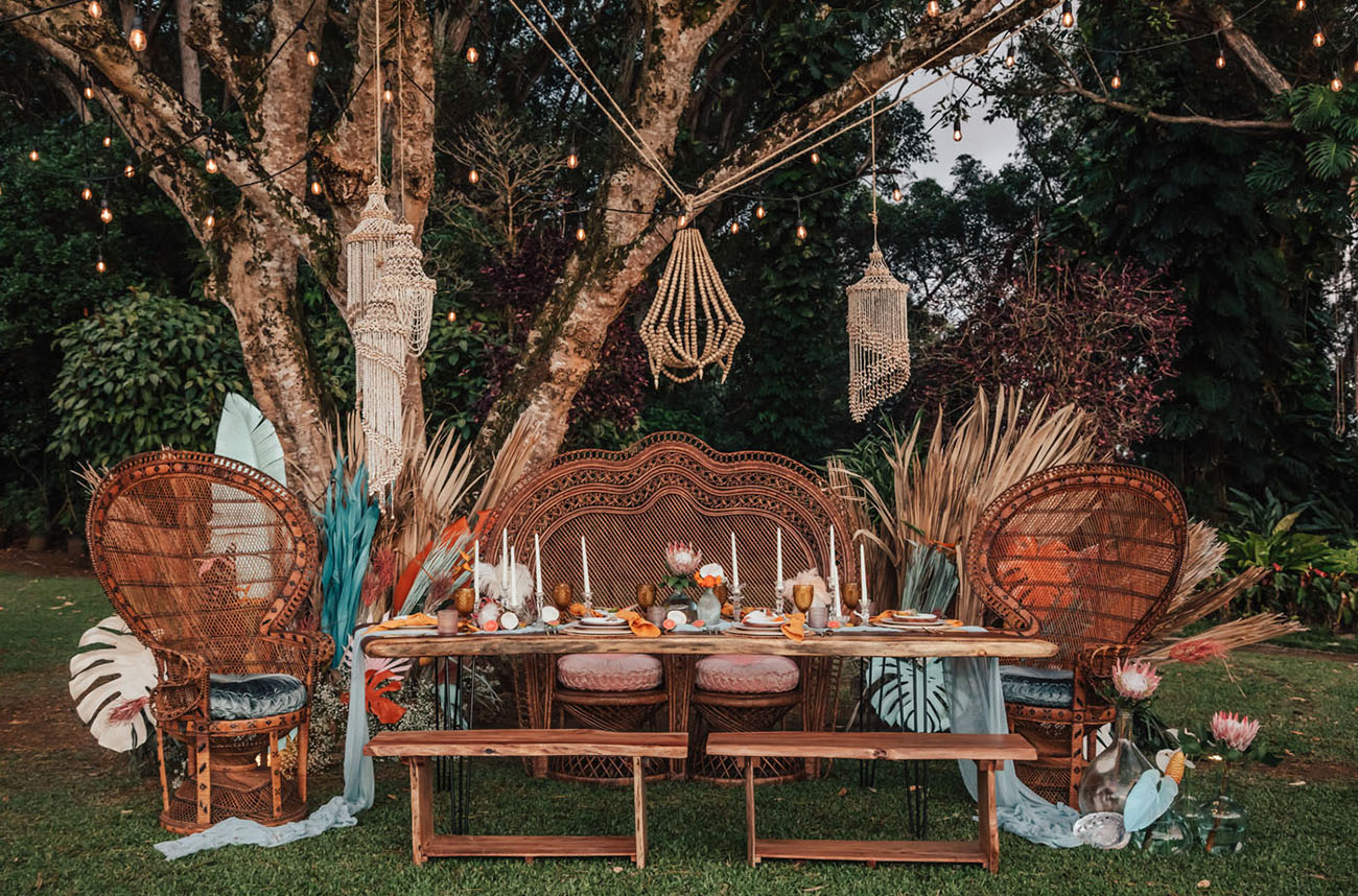 Vintage Boho Tropical Inspiration