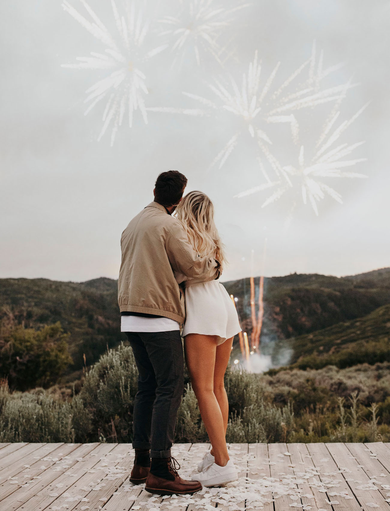 proposal fireworks