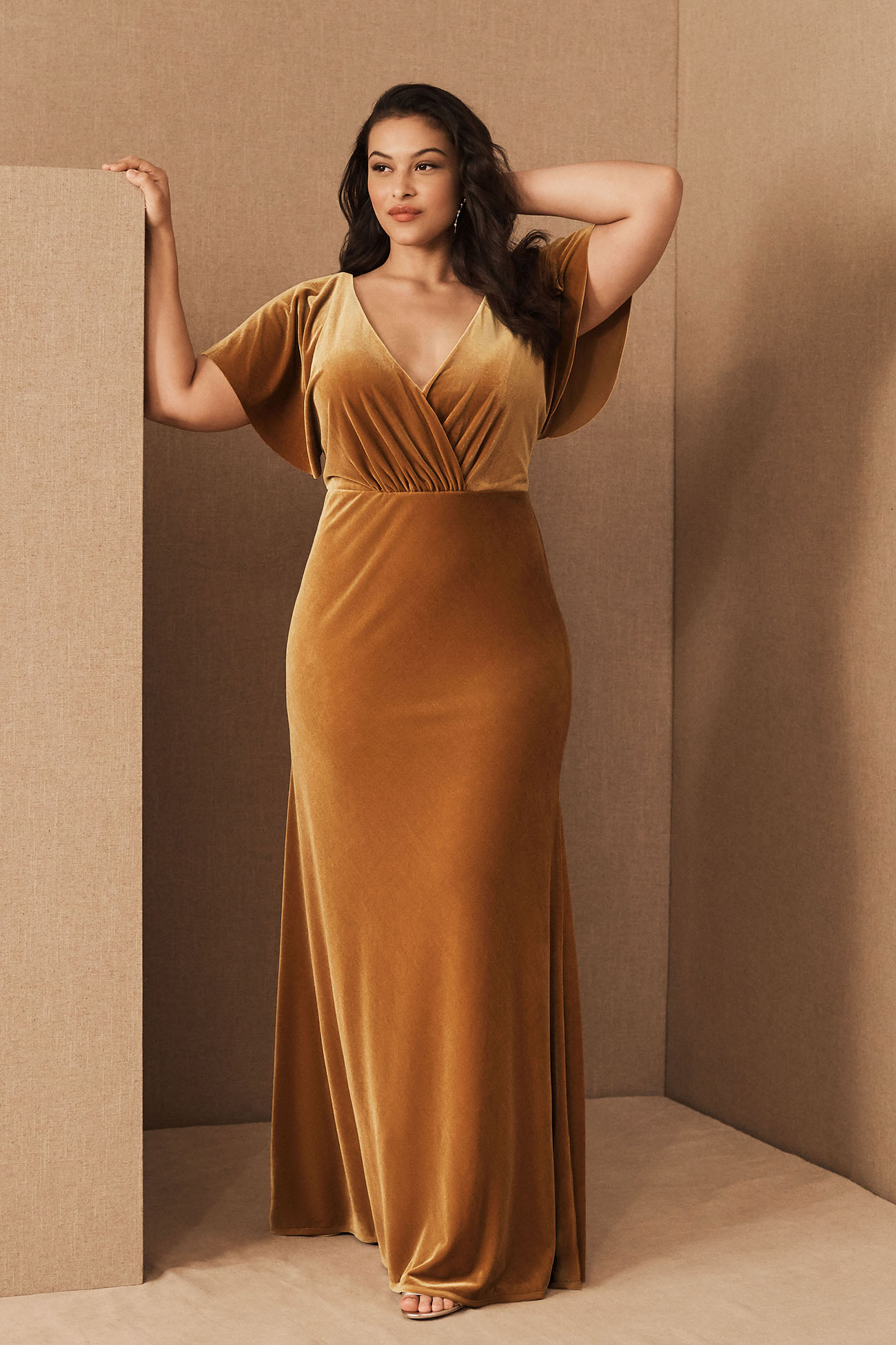 Ellis Velvet Dress by BHLDN for bridesmaids