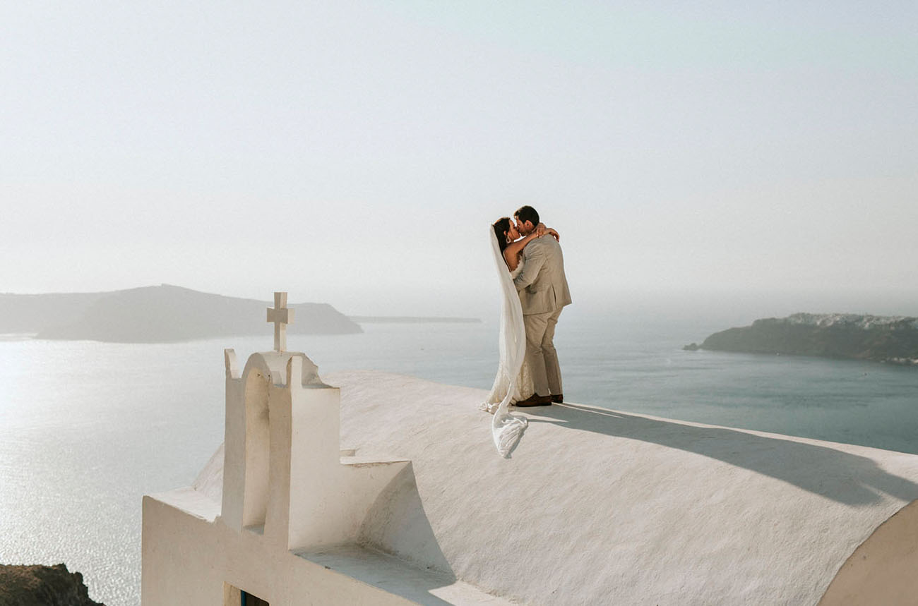 Santorini Wedding Elopement