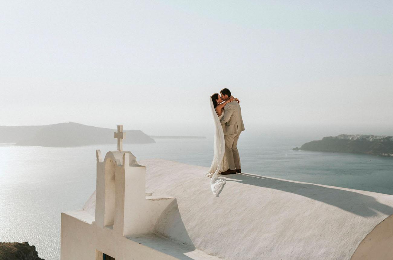 Santorini Wedding Elopement