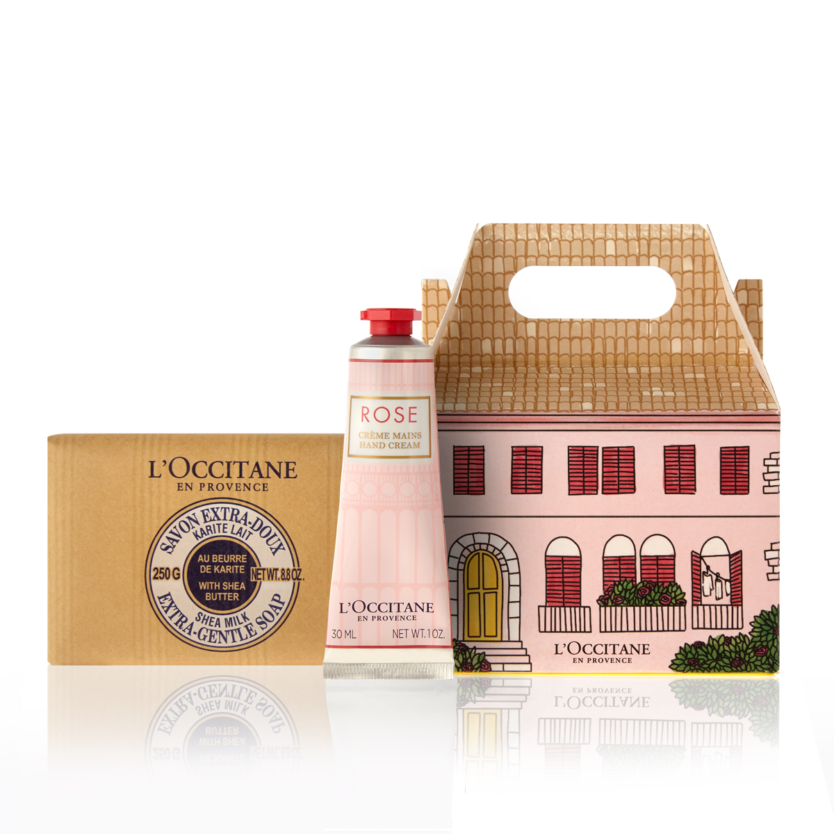 L'Occitane Rose Care Package