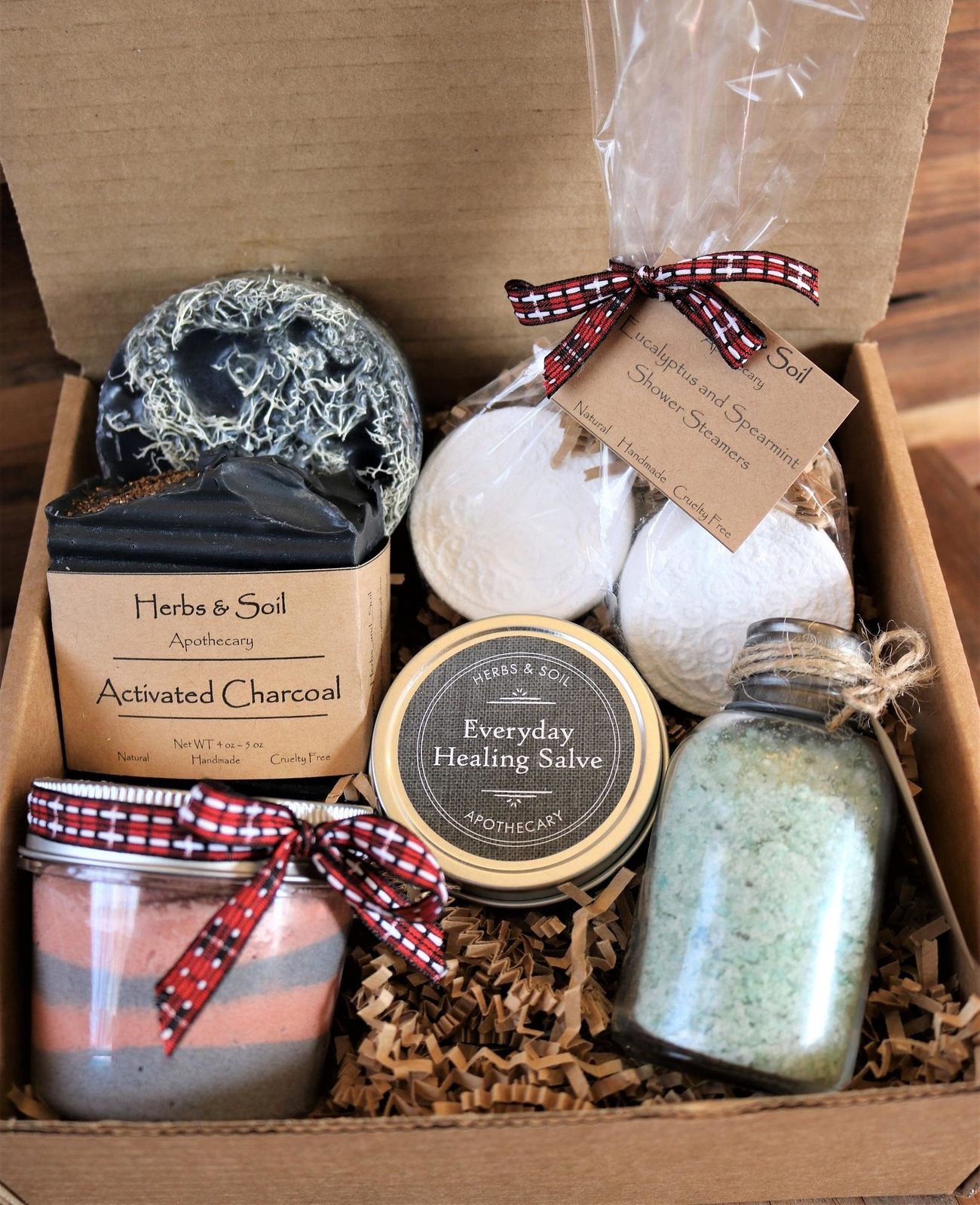 spa gift set for him