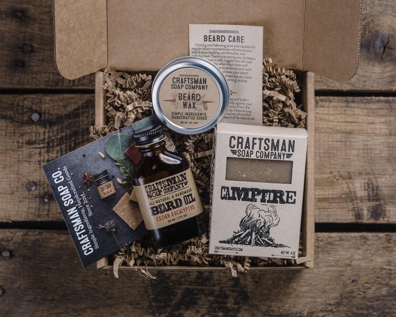 Men's Beard Grooming Gift Set