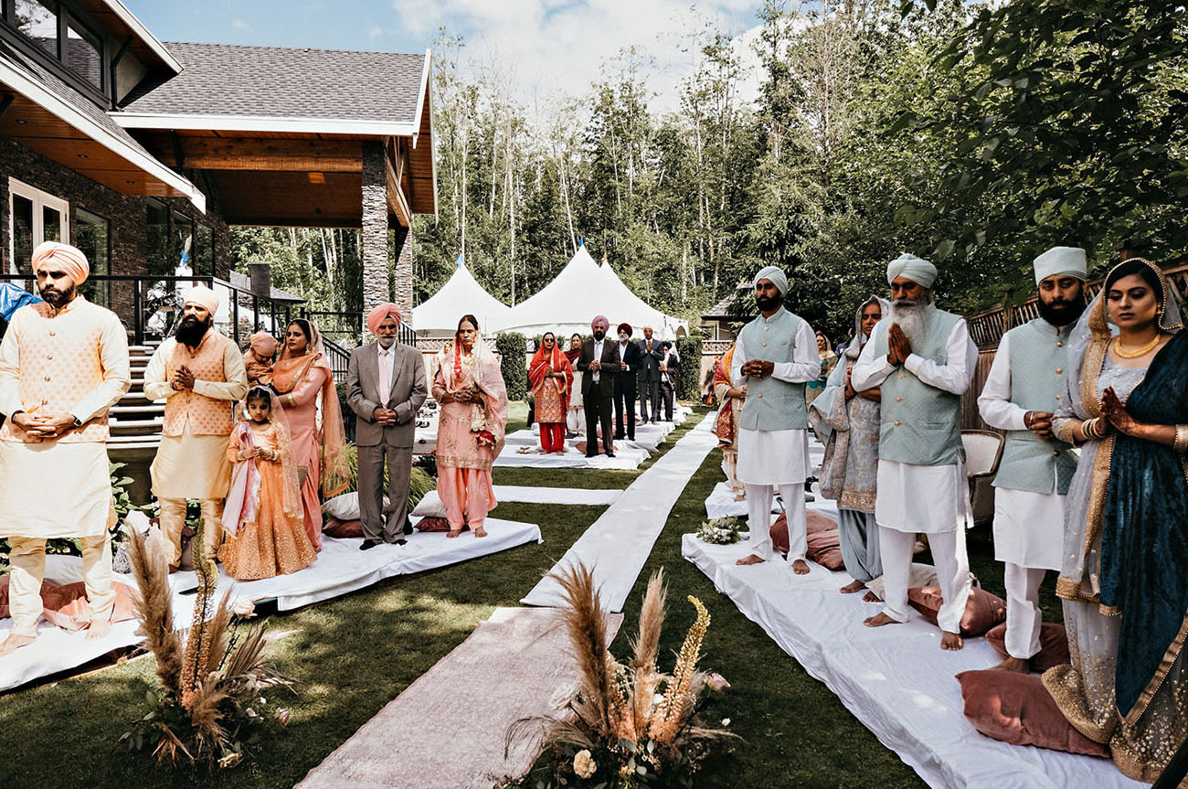 Socially-Distanced Backyard Indian Wedding