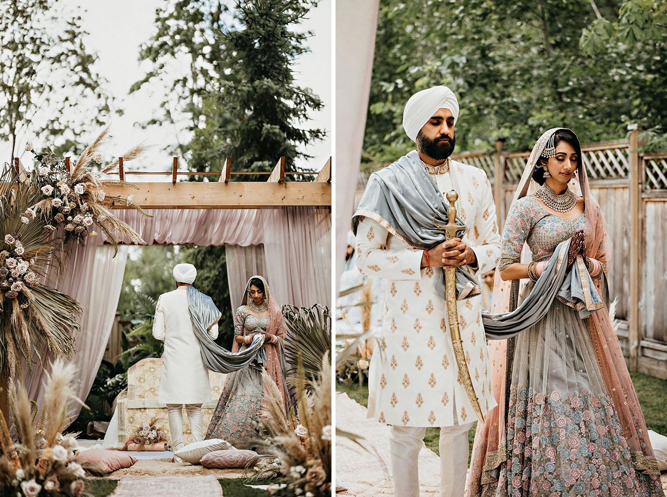 Socially-Distanced Backyard Indian Wedding