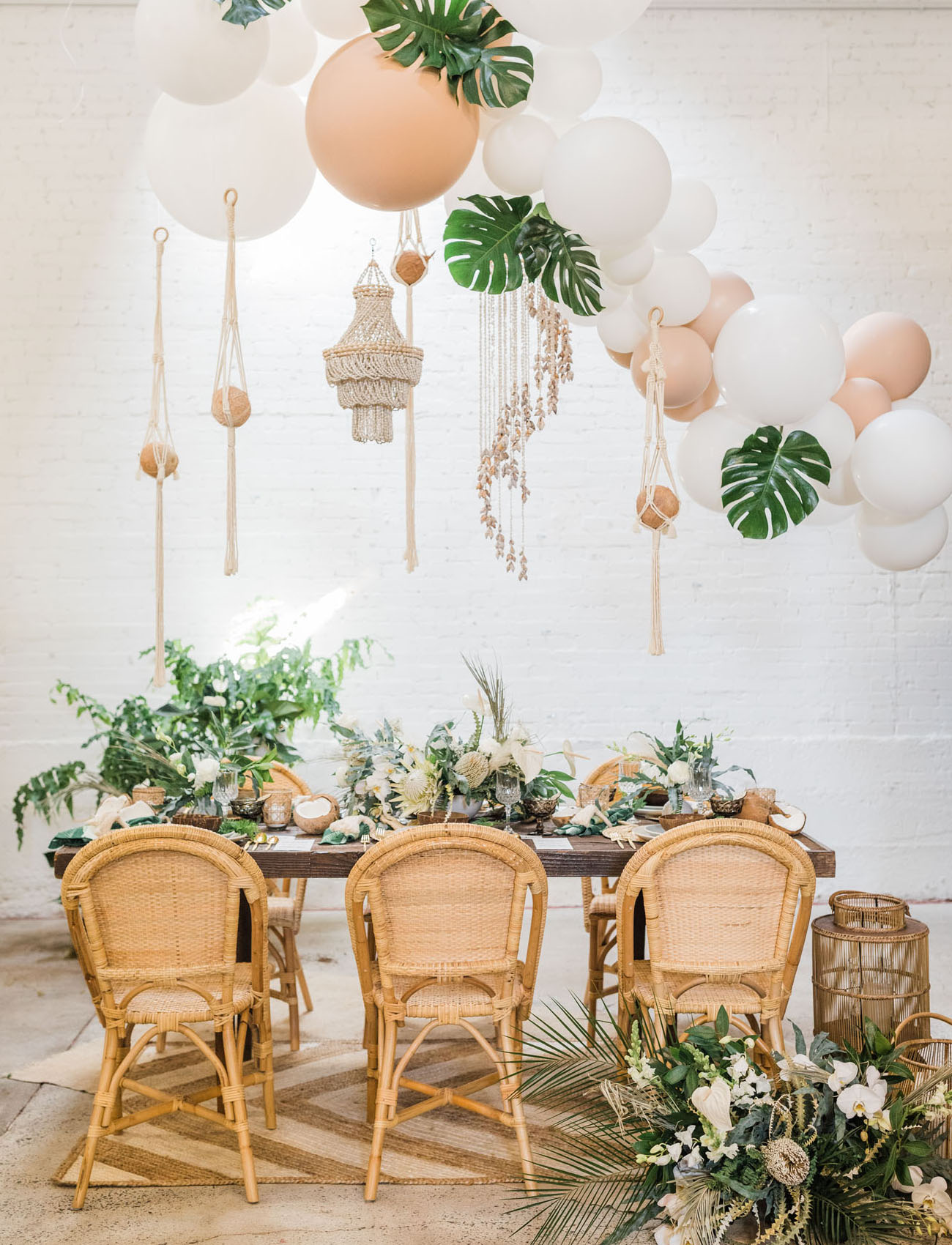 Coconut Inspired Party