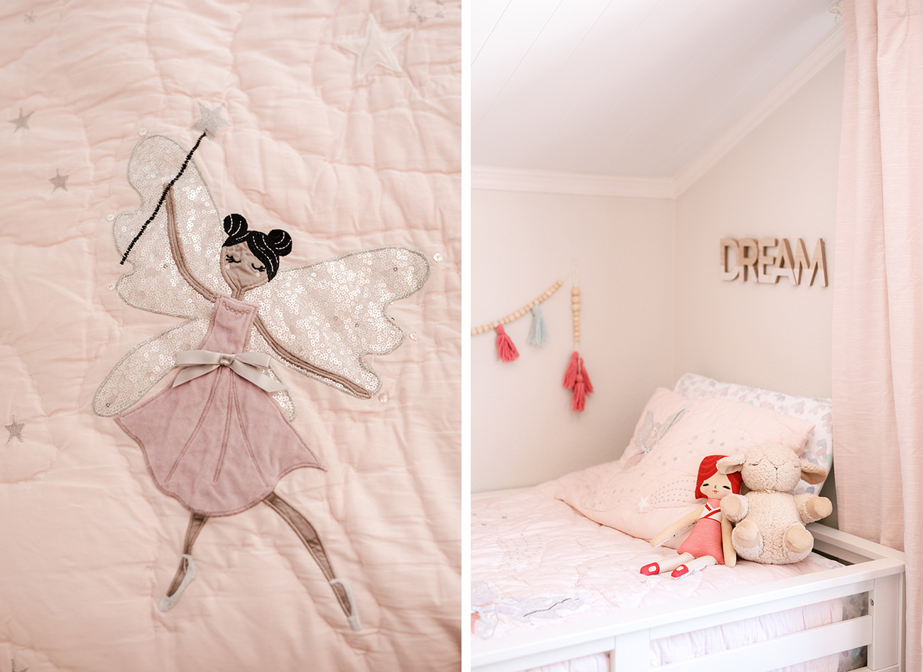 fairy quilt from Pottery Barn Kids