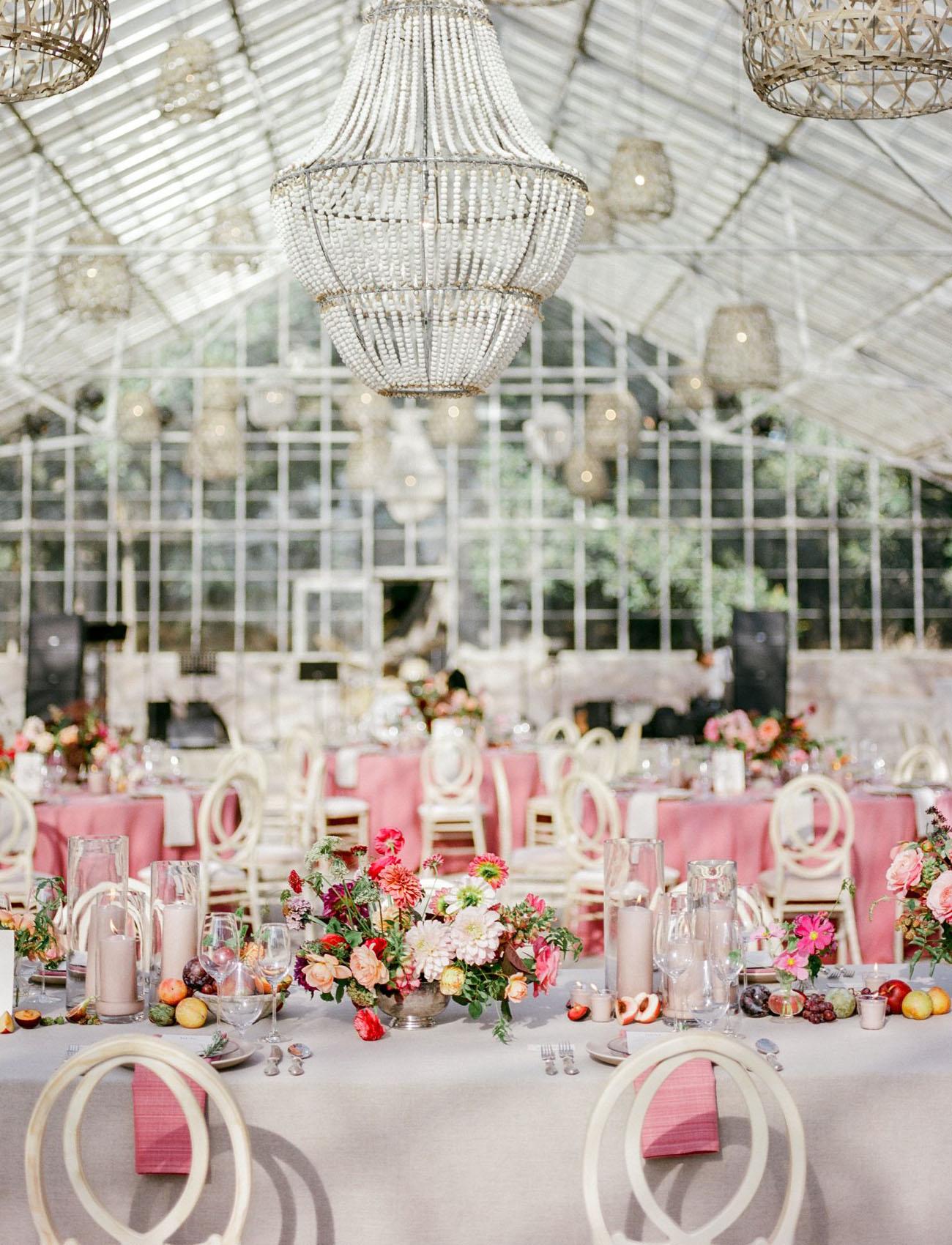 Garden Party Greenhouse Wedding