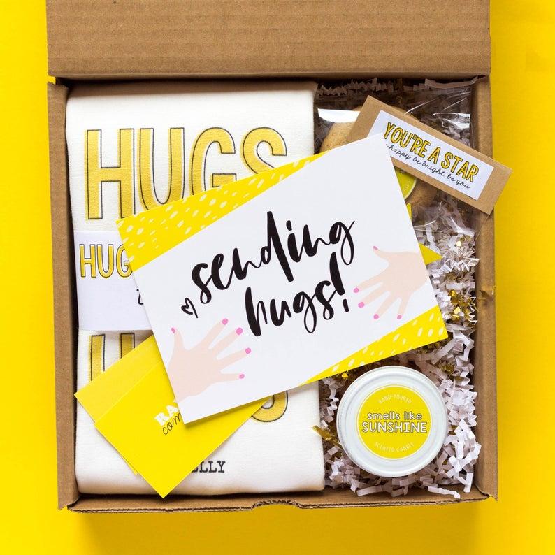 Box of Sunshine Cheer Up Gift Set